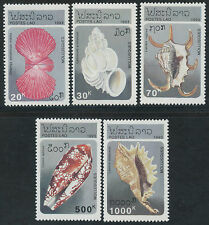 LAOS N°1086/1090** Coquillages, 1993 Sea Shells Sc#1130-1134 MNH