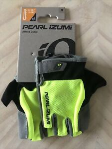 "Pearl Izumi Attack Bike Gloves Men Medium: 8 - 8.75"""