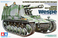 1/35 Tamiya German German Self-Propelled Howitzer Wespe #35200