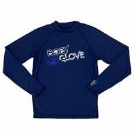 Body Glove UVP50 Rash Guard Men's Size L Blue Ultraviolet Protection Long Sleeve