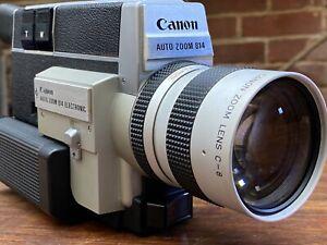 Original Canon Super 8 Auto Zoom 814 7.5-60mm Lens Camera f/1.4