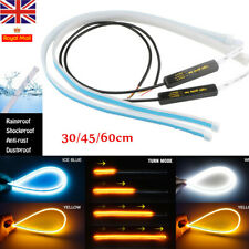 Sequential LED Strips Indicator Turn Signal Daytime Running Light DRL Switchback
