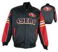 San Francisco 49ers G-III Men's Snap Up Jacket NFL M L XL 2XL