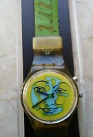 "swatch watch STANDARD GENT model ""HEART ON EARTH"" GK 900 year 1996 USED"