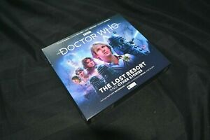 The Fifth Doctor Adventures THE LOST RESORT Doctor Who Audiobook CD Boxset 2021