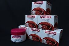 6 x REBIRTH PURAROSE Placenta aromatherapy Cream with rose essential oil 100 ml