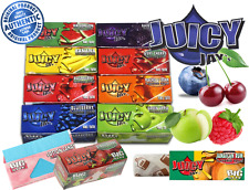 Juicy Jay Flavoured Big Size Rolls Rolling Smoking Papers Rips Fruity Flavours