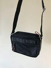 Burberry Logo  Crossbody Messenger Shoulder Nylon  Bag