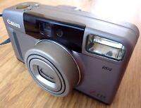 Canon Sure Shot 35 mm Film Compact Camera Z115 with Canon Case