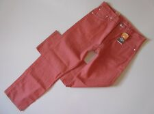 NWT Levi's 501 in Apricot Brandy Shrink To Fit Raw Unwashed Denim Jeans 42 x 30