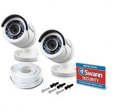 2x Swann pro-t853 TVI HD 1080p Sécurité CCTV Caméra DVR 4550 4750 1590 8075 5000
