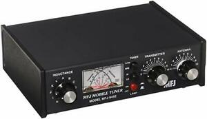 MFJ 945E Mobile HF Manual Antenna Tuner, Covers 1.8 - 60 MHz for Amateur Radio