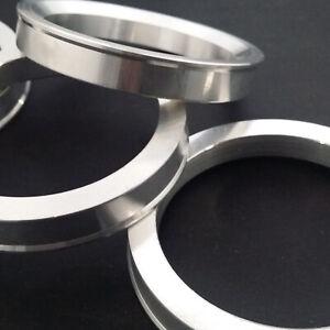 Spigot Rings Set Of 4! 66.6 - 57.1 To Suit Audi, VW Mercedes TUV