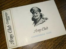 Army Club Cambridge Size Cigarette Packet Sleeve, Cavanders Ltd
