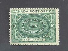 Canada YR 1898 SPECIAL DELIVERY SCOTT E1a FVF MINT NH (BS19972)