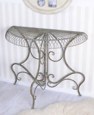 Wall Table Vintage Art Nouveau Style Console Table Antique Iron Table