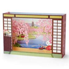 Hello Kitty Zen Garden Cherry Blossom Pop Up Box 3D Card