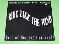 Montana Sextet feat. Nadiyah - Ride like the Wind x4 - BCM Records Maxi 12""