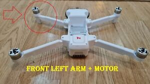 Front Left  Arm + Motor for xiaomi Fimi x8 2018 - 2020 Drone (as shown)