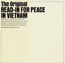 The Original Read-In for Peace in Vietnam - LP 1967 SEALED / SIGILLATO