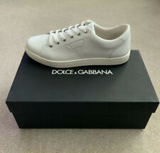 Dolce & Gabbana White Trainers/Sneakers - Mens UK 8  EU42 - New With Box