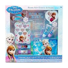 Disney Frozen Cosmetic Beauty Kit Set 70 Pieces Girls Kids Gift Lip Gloss New