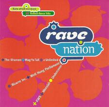 RAVE NATION - Various - 1992 18 Track CD Album