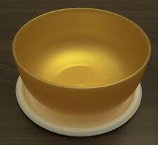 Tupperware Ergonomica Ergonomic 550 ml Schüssel mit Deckel Gold Neu OVP