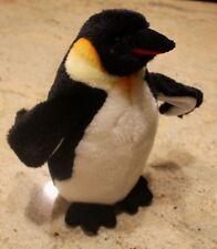 "Arctic Emperor Penguin Plush Stuffed Animal Douglas Posable Wings 10"""