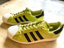 adidas Superstar Boost in Pastel Lime - very rare UK 9.5, EU 44, Great Condition
