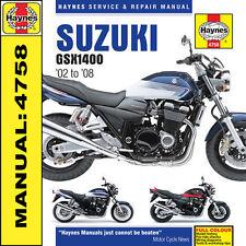 Suzuki GSX1400 1400 2002-2008 Haynes Manual NEW 4758