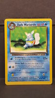 Dark Wartortle 46 Team Rocket Uncommon Pokemon Card Near Mint