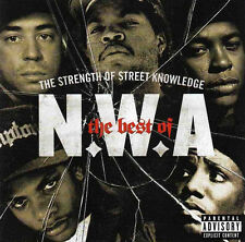 N.W.A. Strength Of Street Knowledge NWA Best Of 17 Song Collection NEW SEALED CD
