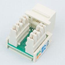 AMP NETCONNECT 406372-3 Cat5e Jack White 25 pack