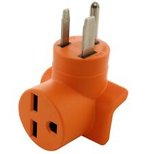 50 Amp NEMA 6-50P to 30 Amp NEMA 6-30R Compact Power Adapter by AC WORKS®