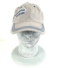 Shakespeare Fishing Rod Reel Hat Cap Hook and Loop Gray Embroidered Distressed