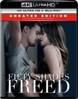 Fifty Shades Freed on Blu-ray Disc and 4K Ultra HD Blu-ray Disc