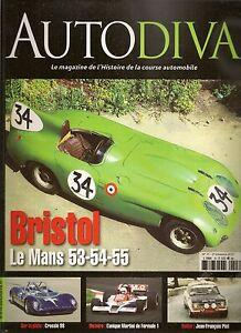 AUTODIVA 15 BRISTOL 450 MARTINI MK23 F1 1978 DANIEL ROUVEYRAN CROSSLE 9S 1966