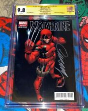 WOLVERINE #13 CGC 9.8 EDITORIAL TELEVISA 2015 Signed by J Scott CAMPBELL VARIANT