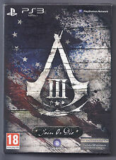 Assassin's Creed III - Join or Die Edition (Sony PlayStation 3, 2012) - European