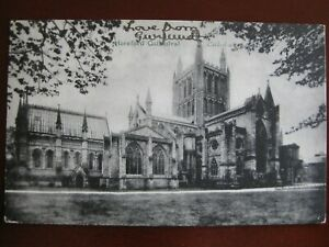 Hereford Cathedral - posted 1905 ( Tucks )
