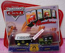 Disney PIXAR CARS Mini Adventures Radiator Springs ✰FILLMORE & SARGE ✰nip