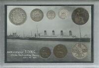 The Titanic Antique Cased Memorabilia Coin Gift Collection Collector Set 1912