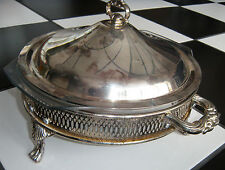 Silver Plated Casserole with Insert Dish
