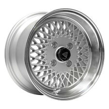 "15"" Enkei ENKEI92 Wheel Rim - Silver 15x7 4x100 +38 465-570-4938SP"