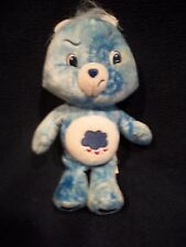 Vintage 2007 Care Bear Blue Tie Dyed Grumpy Bear