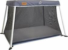 Venture Roma Travel Cot – Slate Includes Foam Mattress and Carry Bag 100 x 60cm