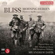 BLISS: MORNING HEROES; HYMN FOR APOLLO USED - VERY GOOD CD
