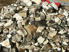 Georgetown Blue Flint Knapping Material (Texas) 20 pounds. Arrowheads, Knapping.