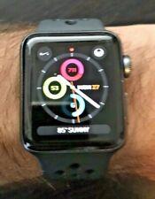 Apple Watch Nike+ Series 3 38mm Space Gray Aluminium